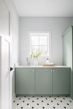 Sherwin Williams SW 6192 Coastal Plain Sherwin Williams SW 6192 Coastal Plain Sherwin Williams SW 6192 Coastal Plain #SherwinWilliamsSW6192CoastalPlain #SherwinWilliams Farmhouse Ideas, Modern Farmhouse, Home Trends, Laundry Rooms, New Construction, Mudroom, Double Vanity, Baths, Creative Design