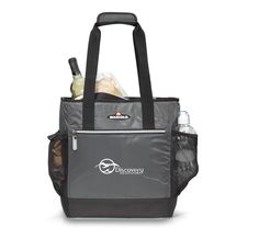 This Gemline Igloo MaxCold™ Insulated Cooler Tote is a great item for corporate outdoor events or take along with you to grocery store. Each cooler tote features a front zippered pocket, two side. Monogram Tote Bags, Custom Tote Bags, Company Gifts, Employee Gifts, Personalized Products, Gym Bag, Coolers, Logo, Marketing Branding