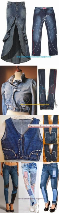 US/&R Women Washed Clear Zircon Appliques Full Sleeve Open Mini Denim Jacket
