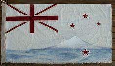 Taranaki Flag by Paula Coulthard   Kina NZ Design + Artspace