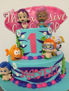 Bubble Guppies Cake | Flickr - Photo Sharing!