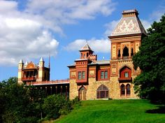 Olana just outside of Hudson, NY - beautiful home of Landscape artist Frederic Church of the Hudson Valley School of Art