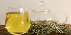 Drink Thyme Tea Every Morning to Help With Fibromyalgia, Hashimoto's, Rheumatoid Arthritis, Lupus, and Multiple Sclerosis. Thyme Tea, Rheumatoid Arthritis, Chronic Fatigue, Natural Remedies, Herbal Remedies, Health Remedies, Wine Glass, The Cure, Alcoholic Drinks