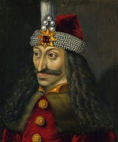 Vlad Dracula Ţepeş, unknown german artist, the second half of the 16th century, Ambras Castle in Innsbruck, Austria.