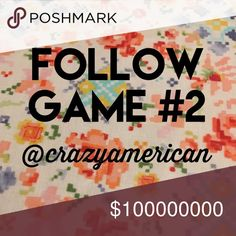 (Boom!) Follow Game 2 Let's Party! 🍩🍰🍫  Like! 🥃 Follow! 🍷 Share! 🍸 Tieks Jewelry