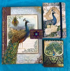 Punch Studio Peacock Journal Postcards Notepad The Gifted Line New Gift Journal Diary, Office And School Supplies, Book Gifts, Old And New, Diaries, Peacock, Postcards, Punch, Journals
