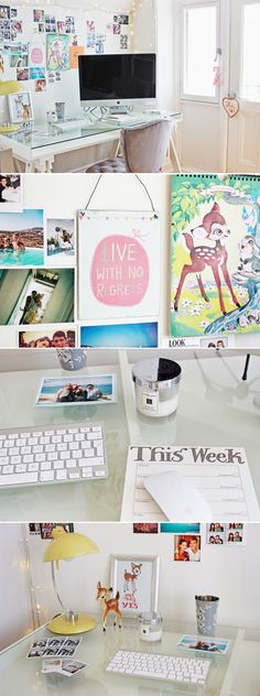 ❝ Bambi-inspired Workspace ❞ ⇢{@jilliantheasian}