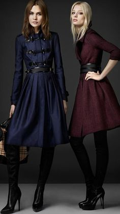 Burberry fall coats