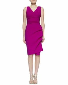 Becky Sleeveless Cocktail Dress, Cyclamen by La Petite Robe by Chiara Boni at Neiman Marcus.