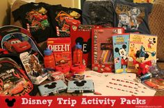Make a Special Disney Trip Activity Pack for the Kids Disney World Vacation, Disney Cruise, Disney Vacations, Disney Trips, Disney Parks, Walt Disney, Disney Travel, Disney Gift, Disney Crafts