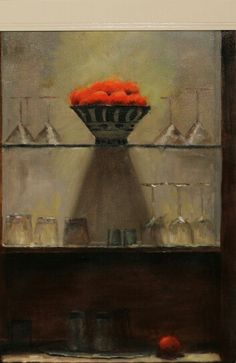 Bowl with oranges
