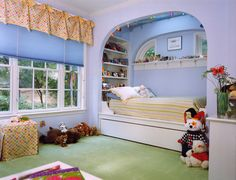 don't love the colors for bug but love everything about the room.