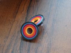 Check out this item in my Etsy shop… Quilling Studs, Paper Quilling Earrings, Quilling Jewelry, Small Earrings, Round Earrings, Ear Studs, Earring Studs, Diy Paper, Paper Crafts