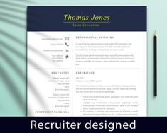 Professional Resume Template Instant Download, Modern Resume Template, Sales Resume Template Word, Creative Resume Template, CV Template Simple Resume Template, Creative Resume Templates, Cv Template, Student Jobs, Student Resume, College Students, Marketing Resume, Sales Resume, Resume Words