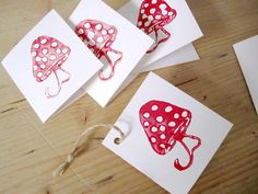 handmade stamped cards by Niola G