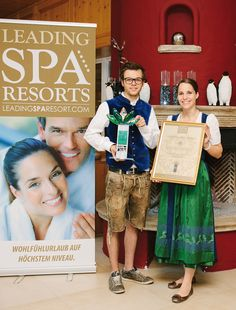 """LEADING SPA AWARD 2013 - SIEG DER ENTSPANNUNG Wellness-Hotel Dilly ist die erste Adresse, wenn es um Spa und Entspannung geht. Gratulation den Gewinnern des """"Leading Spa Award 2013"""". #leading #spa #award #leadingsparesort #dilly"""