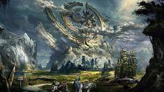 Mage video games fantasy art horses artwork Tera Online - Wallpaper (#1400763) / Wallbase.cc