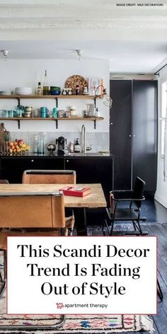 This popular Scandi decor trend is fading out of style. Here's what's coming back in its place. #scandidecor #scandinaviandecor #scandidecorideas #decortrends #scandinaviandesign #scandi #designtrends #decortrends