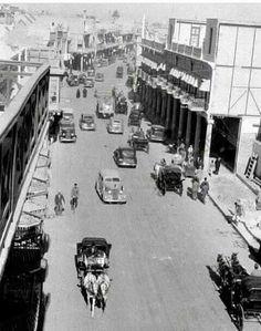 شارع الرشيد/بغداد عام ١٩٣٦