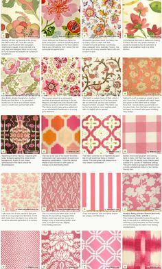 great pink fabrics