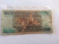 Brazil 20 Duzentos Cruzeiros A1714083743A Banco Central Do Brasil Circulated