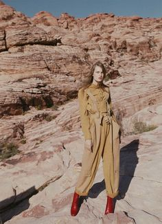 Photography:Georges Antoni. Styled by:Jana Pokorny. Hair: Daren Borthwick. Makeup:Linda Jefferyes. Model:Victoria Anderson.