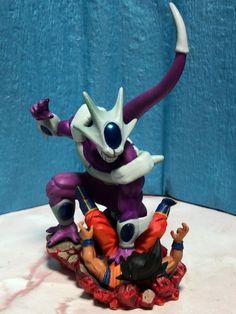 Dragon Ball Capsule Diorama Son Gokou vs Cooler Figure Mega Rare