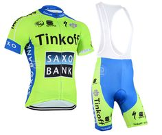 e446d30ca New Unisex Cycling clothes Short-sleeve Jersey   Bib Pants set Green