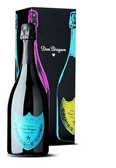 Limited edition Dom Perignon 2002 Vintage Champagne Andy Warhol tribute by Dom Perignon.