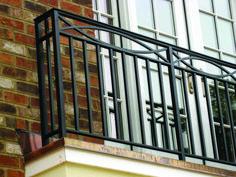 Balcony Roof balcony railing-Balcony - Click Image to See More Reference of Balcony Roof balcony railing Porch Railing Kits, Balcony Railing Planters, Roof Balcony, Patio Roof, Railing Ideas, Balcony Grill Design, Balcony Railing Design, Metal Railings, Staircase Railings