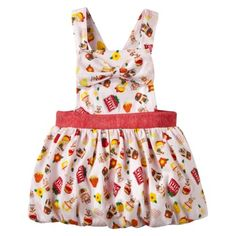 Harajuku Mini for Target® Toddler Girls Print Jumper - Pink.Opens in a new window