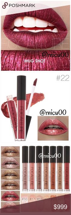 """⚜️Coming Soon! Mug Shot Red Matte 5🌟 Lipstick! A Long-wearing, liquid Lipstick that dries Matte with an intense color payoff! Lightweight formula infused with antioxidants & an exclusive complex to help maintain the lips hydration. One thin coat has Amazing transfer-free staying power! (shopfocallure.com)  ✔️Popular 5⭐️ Product, Sealed in Box ✔️""""Mug Shot"""" ✔️Cruelty Free, NO Parabens or Phthalates ✔️Pic's obtained Online   *NO TRADES *Prices are FIRM-Listed at Lowest Price Unless BUNDLED…"""