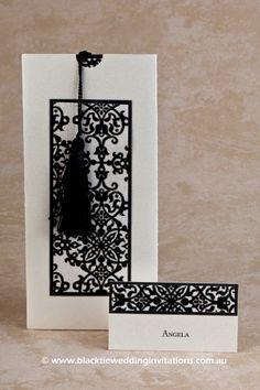 Tapestry : Invitation  http://blacktieweddinginvitations.com.au/galleries/classic-wedding-invitations/tapestry