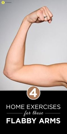 4 Best Home #Exercises for those #Flabbyarms