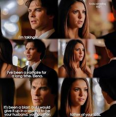 Aww way to step up Damon way to step up