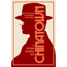Chinatown, R: A private detective investigating an adultery case stumbles on to a scheme of murder that has something to do with water.