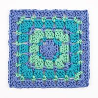 Most commonly referred to as the block stitch, but sometimes called the mosaic stitch or dot stitch, this square features little pops of colorbetween rounds of theclassicgranny stitch. After ste...
