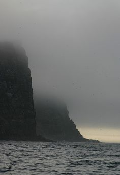 A R C T I C * C I R C L E, Iceland - August 2010 (I crossed the Arctic Circle on the island of Grimsey at 66° 33'N, 18° 01'W.....fog and all)