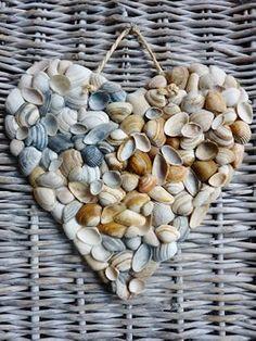 diy shells decor