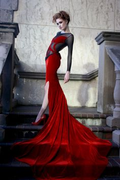 Red, Rich and Wonderful -- https://www.etsy.com/shop/Whitesrose Go here for your Dream Wedding Dress and Fashion Gown!
