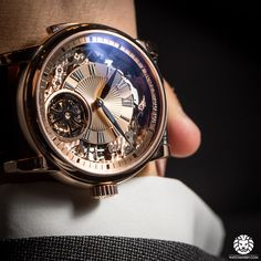 New Roger Dubuis Hommage Minute Repeater Tourbillon Automatic