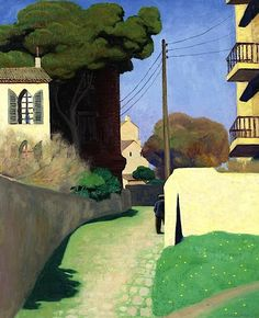 Felix Vallotton - Chemin au Mourillon 1925