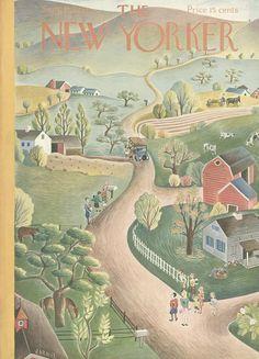 The New Yorker - Saturday, September 13, 1941 - Issue # 865 - Vol. 17 - N° 31 - Cover by : Ilonka Karasz