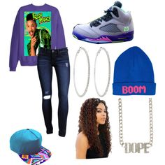 """Bel-Air OutFit"" by dopegirl12 on Polyvore  cheap air jordan 5 only $59.59, save up to 61% off"