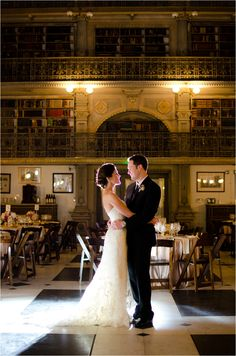 George Peabody Library Baltimore MD. Historic Library Wedding Venue.