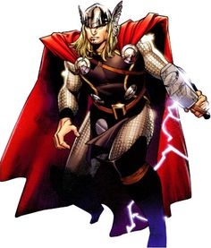 Thor, the god of Thunder and Lord of Asgard