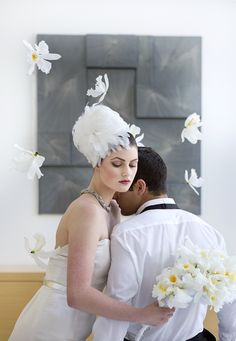 Breathtaking Modern White Art Museum Inspiration Session | Images by Djamel Photography