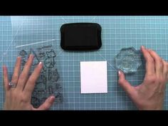 Lawn Fawn Video for beginning stampers: How to use clear stamps