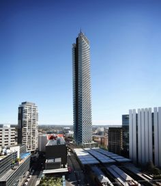 Hochhaus, Stadtentwicklung, Landmarke, Grimshaw Architects, Parramatta City, Australien