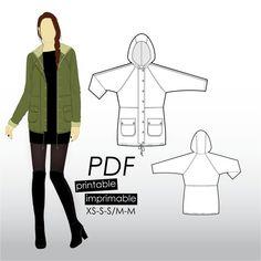 Kommatia Patterns | Coat Pattern
